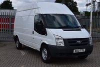 USED 2012 12 FORD TRANSIT 2.4 350 H/R 5d 100 BHP LWB RWD DIESEL PANEL MANUAL VAN ONE OWNER FULL S/HISTORY LOVELY DRIVE