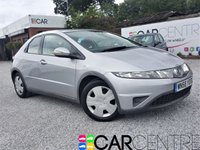 USED 2008 58 HONDA CIVIC 1.3 SE I-DSI 5d 82 BHP FULLY SERVICED 2 KEYS