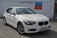 USED 2012 62 BMW 1 SERIES 2.0 116D SE 5d 114 BHP 62.8 AV MPG & JUST £30 ROAD TAX
