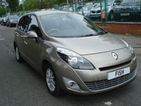 USED 2010 60 RENAULT GRAND SCENIC 1.5 PRIVILEGE TOMTOM DCI FAP 5d 109BHP 1 OWNER+FSH 5STAMPS+7 SEATER+