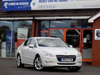 USED 2013 13 PEUGEOT 508 2.0 HDi ALLURE 4dr (140) * Sat Nav * *ONLY 9.9% APR with FREE Servicing*