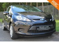 USED 2010 59 FORD FIESTA 1.2 EDGE 3d 81 BHP A STUNNING LOW MILEAGE FIESTA WITH ONLY ONE PREVIOUS OWNER FROM NEW!!!