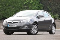 USED 2011 11 VAUXHALL ASTRA 1.7 EXCITE CDTI 5d 108 BHP £30 P/Y Tax - 63 MPG Combined!