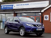 USED 2014 64 NISSAN QASHQAI 1.5 DCi ACENTA 5dr  *ONLY 9.9% APR with FREE Servicing*