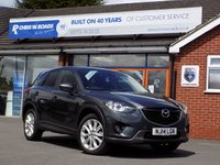 USED 2014 14 MAZDA CX-5 2.2 D SPORT NAV 5dr (150) * Leather & Sat Nav * *ONLY 9.9% APR with FREE Servicing*