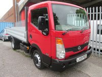 2009 NISSAN CABSTAR 35.13 MWB SCATTOLINI 12FT ALLOY DROPSIDE *1 OWNER* £7995.00