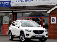USED 2014 14 MAZDA CX-5 2.2 D SE-L LUX 5dr (150) *Heated Leather & Sunroof * *ONLY 9.9% APR with FREE Servicing*