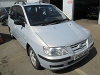 2002 HYUNDAI MATRIX 1.6 GSI 5d 102 BHP £595.00