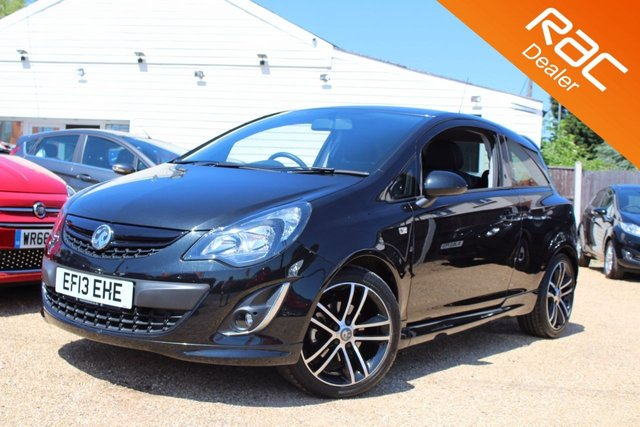 View our 2013 13 VAUXHALL CORSA 1.4 BLACK EDITION 3d 118 BHP