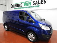 USED 2015 65 FORD TRANSIT CUSTOM 2.2 270 LIMITED  125 BHP  1 OWNER FROM NEW LOW MILES