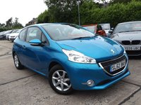 USED 2012 62 PEUGEOT 208 1.0 ACTIVE 3d 68 BHP