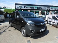 USED 2015 65 VAUXHALL VIVARO 1.6 CDTI 125 BHP 9 SEAT MINIBUS NEW SHAPE UNDER VAUXHALL WARRANTY UNTIL NOVEMBER 18