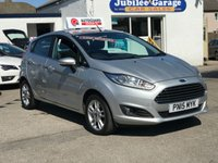 USED 2015 15 FORD FIESTA 1.2 ZETEC 5d 81 BHP Bluetooth, Alloys, AC, Heated screen, One owner, Daytime LED, Full ford history, Only 16381 miles!