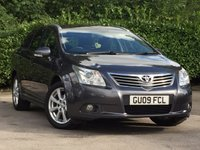 USED 2009 09 TOYOTA AVENSIS 2.0 D-4D TR 5dr Estate FULL SERVICE HISTORY
