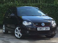 USED 2007 57 VOLKSWAGEN POLO 1.8 Turbo GTI 5dr FULL SERVICE HISTORY