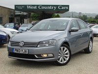 USED 2013 13 VOLKSWAGEN PASSAT 2.0 HIGHLINE TDI BLUEMOTION TECHNOLOGY 4d 139 BHP Only 1 Owner From New