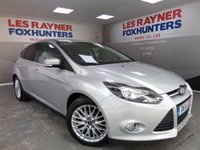 USED 2014 14 FORD FOCUS 1.6 ZETEC TDCI 5d 113 BHP Bluetooth connectivity,Stop start, 17 inch alloys