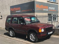 2000 LAND ROVER DISCOVERY 2.5 TD5 S 5d 136 BHP £SOLD