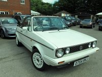 USED 1987 D VOLKSWAGEN GOLF 1.6 CLIPPER CABRIOLET 2d 75 BHP