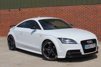 2013 AUDI TT 2.0 TDI QUATTRO BLACK EDITION 2d 168 BHP £17500.00