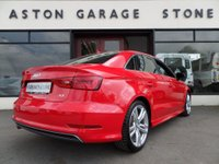 USED 2015 15 AUDI A3 1.6 TDI S LINE 4d SALOON ** SAT NAV * CRUISE ** ** SAT NAV * F/S/H * DAB * CRUISE **