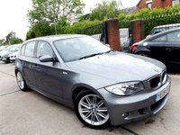 USED 2009 09 BMW 1 SERIES 2.0 118D M SPORT 5d 141 BHP