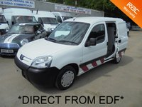 2007 PEUGEOT PARTNER 1.6 HDi 800 LX *DIRECT FROM EDF*SIDE DOOR*AIR CON* £2495.00