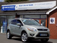 USED 2009 09 FORD KUGA 2.0 TITANIUM TDCI AWD 5d 134 BHP *ONLY 9.9% APR with FREE Servicing*