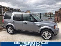 2012 LAND ROVER DISCOVERY 4 SDV6 XS £19495.00