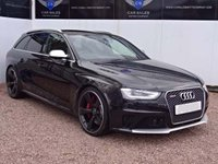 USED 2015 15 AUDI RS4 AVANT 4.2 RS4 AVANT FSI QUATTRO LIMITED EDITION 5d AUTO  SAT NAV, PAN ROOF, TWO TONE LEATHER RECAROS,