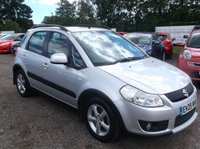 USED 2009 09 SUZUKI SX4 1.6 GLX 5d 107 BHP SPACIOUS  FAMILY CAR WITH SERVICE HISTORY, GREAT SPEC, DRIVES SUPERBLY, OUTSTANDING VALUE !!!