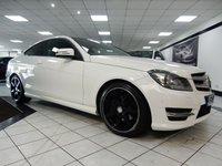 2013 MERCEDES-BENZ C CLASS C220 CDI AMG SPORT PLUS AUTO BLUEEFFICIENCY 170 BHP £16475.00