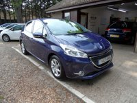 USED 2013 13 PEUGEOT 208 1.2 ACTIVE 5d 82 BHP USB AND AUX CONNECTION, FULL PEUGEOT SERVICE HISTORY