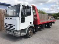 2002 IVECO-FORD CARGO 3.9 75E17S TILTBED 1d 168 BHP £5995.00