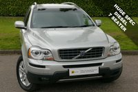 USED 2007 57 VOLVO XC90 2.4 D5 SE LUX AWD 5d AUTO 185 BHP STUNNING HUGE SPEC 7 SEATER 4X4*** £0 DEPOSIT FINANCE AVAILABLE
