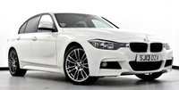 USED 2013 13 BMW 3 SERIES 2.0 320i M Sport xDrive 4dr Media Pack, Black Leather, USB