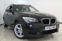 USED 2012 62 BMW X1 2.0 XDRIVE 20D M SPORT 5DR 181 BHP XDRIVE20D FULLBMW SERVICE HISTORY + 0% FINANCE AVAILABLE T&C'S APPLY + HEATED LEATHER SEATS + CLIMATE CONTROL + PARKING SENSOR + BLUETOOTH + CRUISE CONTROL + MULTI FUNCTION WHEEL + 18 INCH ALLOY WHEELS