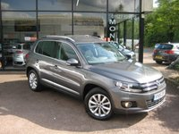 2015 VOLKSWAGEN TIGUAN 2.0 MATCH TDI BLUEMOTION TECHNOLOGY 4MOTION 5d 139 BHP £12790.00