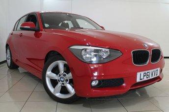2012 BMW 1 SERIES 2.0 118D SE 5DR 141 BHP £7470.00