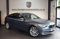 USED 2010 10 BMW 5 SERIES 3.0 530D SE GRAN TURISMO 5DR AUTO 242 BHP + FULL BLACK LEATHER INTERIOR + FULL BMW SERVICE HISTORY + PRO SATELLITE NAVIGTAION + PANORAMIC SUNROOF + BLUETOOTH + XENON LIGHTS + HEATED SPORT SEATS + VOICE CONTROL + PARKING SENSORS + 20 INCH ALLOY WHEELS +