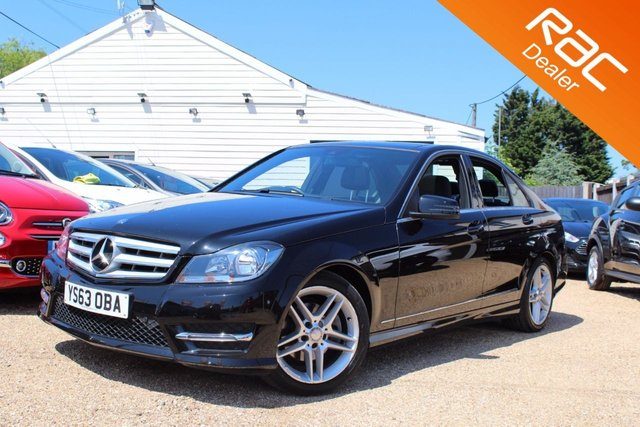 View our 2013 63 MERCEDES-BENZ C CLASS 2.1 C220 CDI AMG SPORT EDITION PREMIUM PLUS 4d AUTO 168 BHP