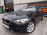 USED 2014 63 BMW 1 SERIES 1.6 114D ES 5d 94 BHP Excellent Condition, One Owner, FSH, Low Rate No Fee Finance Available