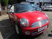 2009 MINI HATCH COOPER 1.6 COOPER D 3d 108 BHP £4295.00