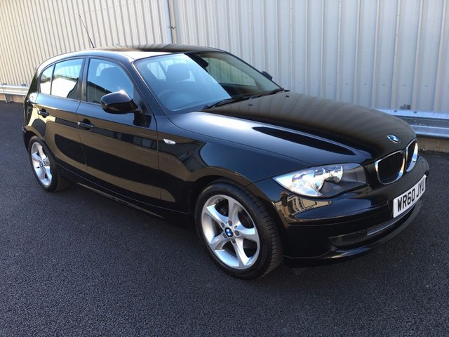 2010 60 BMW 1 SERIES 2.0 118D 141BHP MANUAL SPORT 5 DOOR HATCHBACK