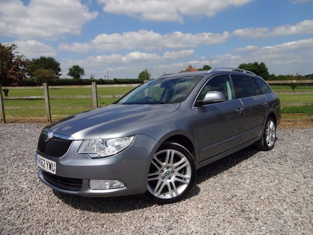 2012 62 SKODA SUPERB 2.0 TDI CR DPF SE Plus 5dr