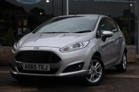 USED 2015 65 FORD FIESTA 1.25 Zetec 5dr Nortree Approved Vehicle