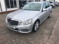 USED 2010 60 MERCEDES-BENZ E CLASS 2.1 E250 CDI BLUEEFFICIENCY AVANTGARDE 5d AUTO 204 BHP ESTATE Full Main Dealer Service History, Leather-Nav-Bluetooth-Auto Tailgate
