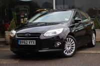 USED 2012 62 FORD FOCUS 1.0 SCTi EcoBoost Titanium X 5dr Nortree Approved Vehicle