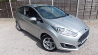 USED 2013 13 FORD FIESTA 1.6 ZETEC 3dr AUTO Low Miles, Parking Sensors