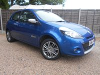 USED 2011 61 RENAULT CLIO 1.2 DYNAMIQUE TOMTOM 16V 3dr Sat Nav, Half Leather, Cruise